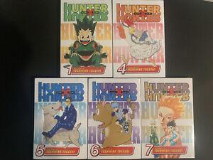Hunter X Hunter Manga Lot (5 Brand New Volumes)