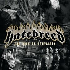 """HATEBREED """"THE RISE OF BRUTALITY"""" CD METALCORE NEUWARE!"""