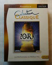 Zork Grand Inquisitor Edition Française Version PC Big Box + Carte Chronologue