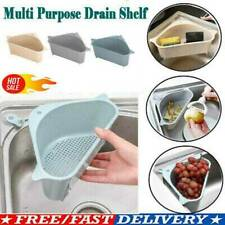 Kitchen Home Strainer Soap Sink Caddy Storage-Sponge Drain Rack Holder Organizer