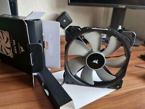 Corsair ML140 2x 14cm PWM Case Fans - Black, 2000 RPM, Magnetic Bearing