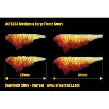 Armorcast ACFX033 Medium & Large Flame Gouts (4 pcs) Cinematic Effects Bits