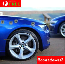 6pcs New Fake Bullet Hole Car Truck Auto Decals Stickers Gifts Presents