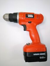 "Black & Decker GC9600 9.6V NiCd 1/2"" Cordless Drill/Driver, Excellent condition"