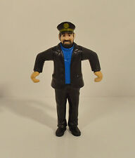 "RARE 2011 Captain Haddock 3.5"" McDonald's Action Figure Adventures Of Tintin"