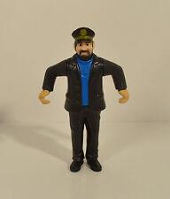 "RARE 2011 Captain Haddock 3.5"" McDonald's Action Figure Adventures Of Tintin"