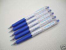 6pc NEW Dot Blue Uni-Ball Signo UMN-138S 0.38mm roller pen Blue ink(Japan)