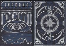 Inferno Cocito Playing Cards Poker Size Deck LPCC Custom Limited Edition Sealed