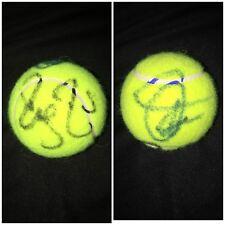 ROGER FEDERER & Novak djokovic Signed TENNIS BALL autograph AUTO NEW AUTHENTIC