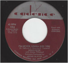 JOHNNY TILLOTSON -  I'M NEVER GONNA KISS YOU / CHERIE, CHERIE - CADENCE 1354
