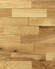 wodewa Holz Wandverkleidung EICHE rustikal I Echtholz I Holzpaneele I 3D