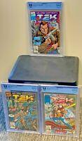 TEKWORLD #1 2 3 x 9.8 Set Lot WILLIAM SHATNER TekWar Marvel Comics 1992 CGC<CBCS