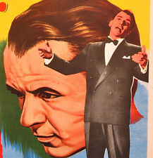 """THE JOKER IS WILD"" FRANK SINATRA BEVERLY GARLAND N MINT MEXICAN LOBBY CARD 1957"