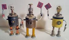 Stash Bot 2- 1960s sci-fi classic style retro robot sculpture unique assemblage