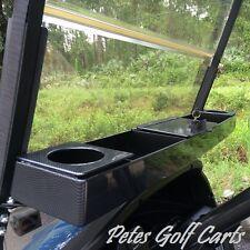 Golf Cart Dash Tray Organizer Universal Carbon Fiber Club Car EZGO Yamaha