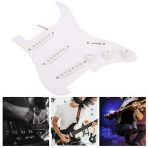 Electric Guitar Loaded-Pickguard Scratch Plate Replacement Use For Fender Strat