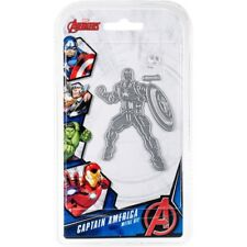 Marvel Avengers CAPTAIN AMERICA Character Craft Cutting Die - FREE UK P&P