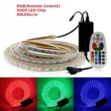 AC220V LED Strip 5050/5630 Waterproof RGB Double White Flexible LED Light Strip