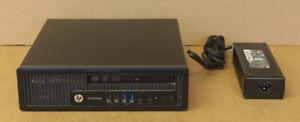 HP EliteDesk 800 G1 4C i5-4570S 2.9GHz 4GB Ram 500B HDD Win10 Pro PC H5T98ET