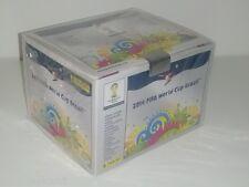 BOX SIGILLATO X 100 BUSTINE BRASIL BRAZIL PANINI 2014 14 FIGURINE SEALED WC CUP