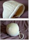 Knitting Pattern- Baby Bonnet- Charlotte- Pattern in Merino Wool to knit