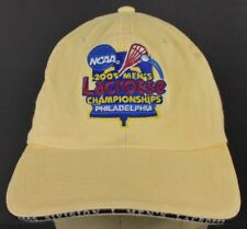 Yellow NCA 2005 Men's Lacrosse Embroidered Baseball Hat Cap Adjustable Strap