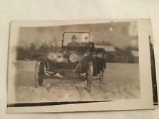 old postcard- RPPC, TOURING CAR AUTO, BUICK 1915