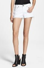 NWT rag & bone /JEAN Women's Cut Off Shorts in Bright White Size: 31
