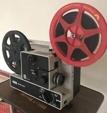 EUMIG 605D SUPER 8 STD 8 CINE MOVIE  DUAL FORMAT FILM PROJECTOR