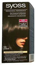 Syoss Professional Performance Coloration 1-1 Schwarz Grauhaarabdeckung
