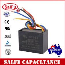 SaiFu CBB61 3uF+3.5uF+6uF 4 Wires AC 250V 50/60Hz Capacitor for Ceiling Fan OZ