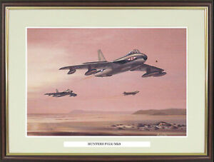"""Hawker Hunter picture """"Hunters F(GA) Mk9"""" by Barry Price  - NGN64"""