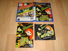 KIM POSSIBLE DOBLE IDENTIDAD DE WALT DISNEY PARA LA SONY PS2 USADO COMPLETO