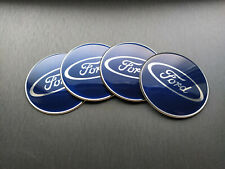 4x 65mm Ford Sticker Stickers Decal Badge For Center Caps Hub Cap Wheel Rim Car
