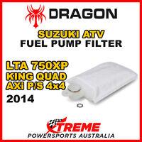 DRAGON LTA750XP KING QUAD AXi POWERSTEERING 4X4 2014 ATV SUZUKI FUEL PUMP FILTER