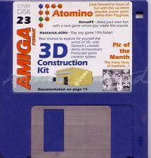 Amiga Format - Magazine Coverdisk 23 - 3D Construction Kit Demo <MQ>