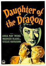 Daughter of the Dragon - 1931 - Anna May Wong Corrigan Pre-Code Crime Drama DVD