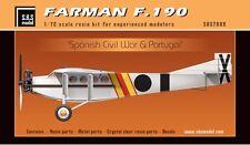 SBS Model 7009 1/72 FARMAN F.190  'Spanish Civil War & Portugal' full resin kit