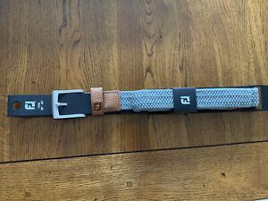 Footjoy Golf Webbing / Leather Belt Sz 36 - 40