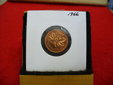 1966  CANADA  1  CENT COIN  PENNY  PROOF LIKE  HIGH  GRADE  SEALED  SEE PHOTOS