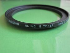 Lightly used Heliopan 67-77mm Step Up Ring E77/67 Nr. 142 FREE SHIPPING