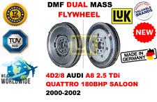 Pour 4D2/8 Audi A8 2.5 Tdi Quattro Berline 2000-2002 Neuf Double Masse Dmf