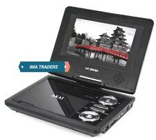 NUOVO Akai 7 in (ca. 17.78 cm) portatile campeggio viaggio di design lettore DVD con Rete/Caricabatteria da auto