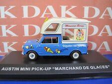 Die cast 1/43 Modellino Auto Pubblicitaria Austin Mini Pick-Up Ice Cream