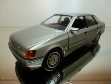 SCHABAK 1500 FORD SCORPIA 2.8i GHI - SILVER 1:25 - GOOD CONDITION