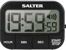 Salter 355 BKXCDU Kitchen Digital Display Count up or Countdown Timer,...