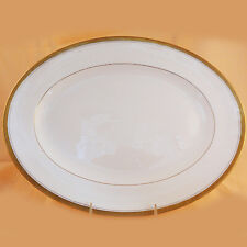"ELITE GOLD Coalport PLATTER 15.25"" long NEW NEVER USED made England bone china"