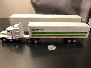 ERTL John Deere Insurance Tractor Trailer - Scale 1:87? - Die Cast Boxed!