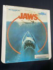 JAWS - Steven Spielberg / Lorraine Gary, Murray Hamilton - CED Videodisc Tested
