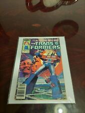 Marvel The Transformers #1 Newsstand Comic